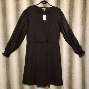 Maurices Black Dress NWT